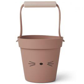 Linda bucket - Cat dark rose mix
