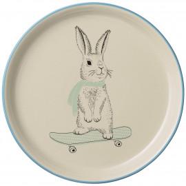 ceramic plate 'Marius Rabbit' (Ø 25cm)